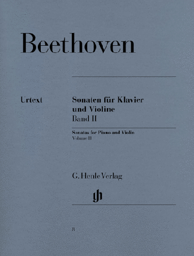 Beethoven - Sonatas for Piano and Violin – Volume II