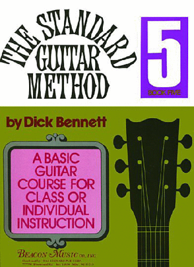 The Standard Guitar Method Book 5