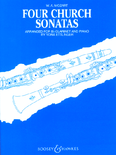 Four Church Sonatas - Clarinet and Piano
