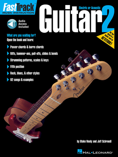 FastTrack Guitar Method – Book 2 with Audio