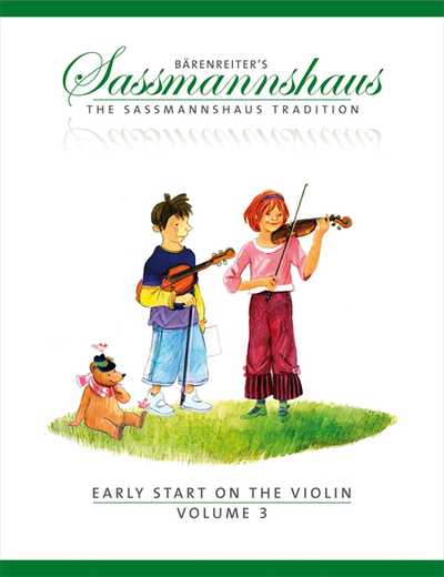 The Sassmannshaus Tradition: Early Start on the Violin, Volume 3