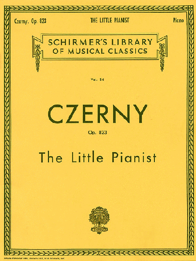 Czerny Op.823 Little Pianist