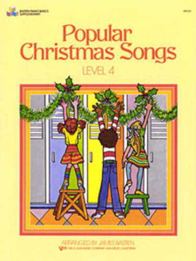 Bastien Popular Christmas Songs Level 4