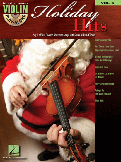 Holiday Hits Violin Play-Along Volume 6