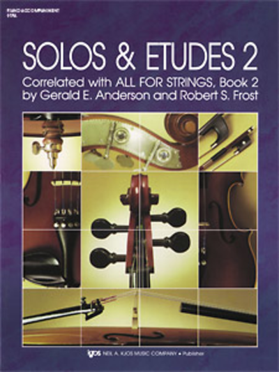 Solos & Etudes Book 2 Piano Accompaniment