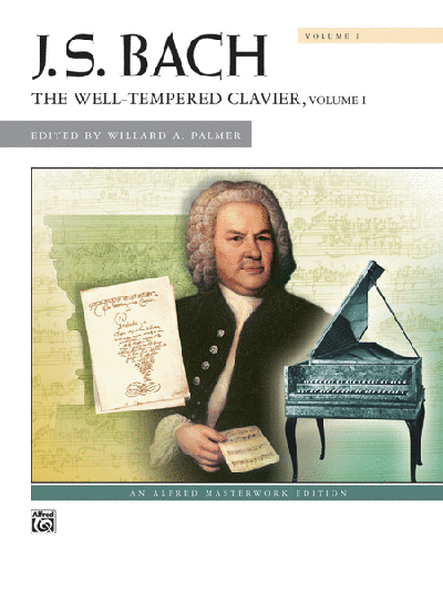 Bach Well Tempered Clavier Book 1 Palmer Edition