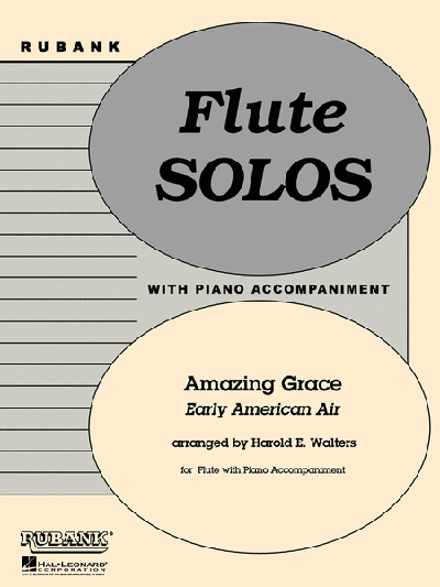 Amazing Grace Flute Solo/Duet with Piano - Grade 1