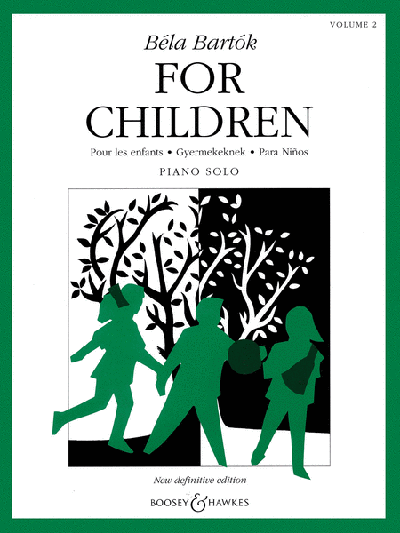 Bartók – For Children, Volume 2