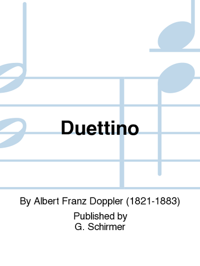 Duettino for 2 flutes and piano