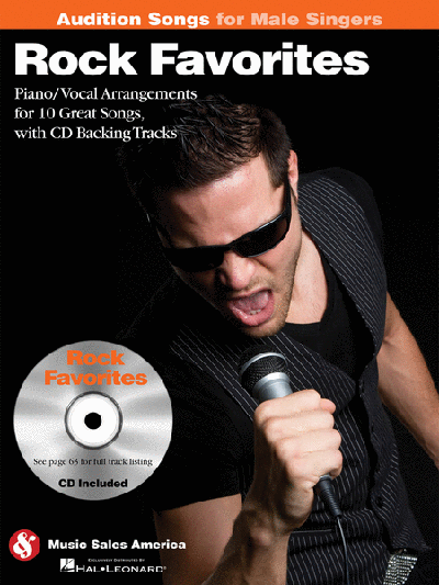 Rock Favorites – Audition Songs for Male Singers