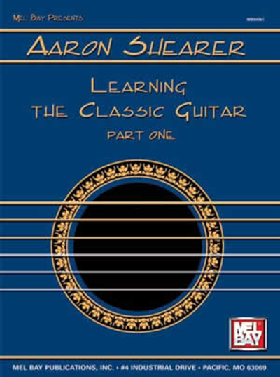 Aaron Shearer Learning Classic Guitar Part 1