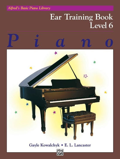 Alfred's Basic Piano Ear Training Book 6