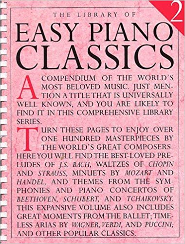 Library of Easy Piano Classics Volume 2