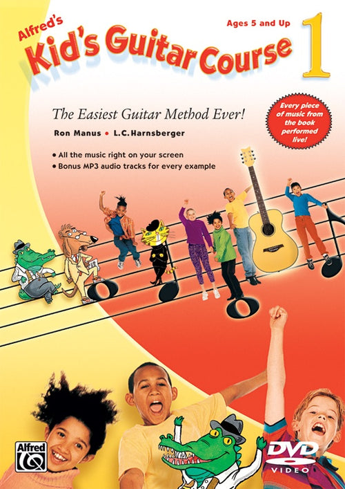 Alfred's Kids Guitar Course 1 DVD