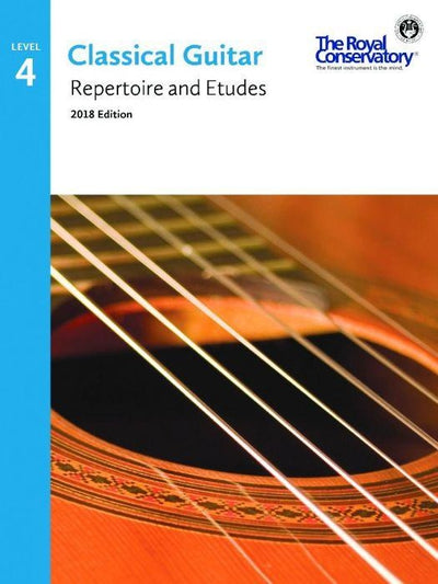 Classical Guitar Repertoire and Etudes 4