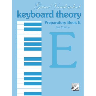 Keyboard Theory Preparatory Book E