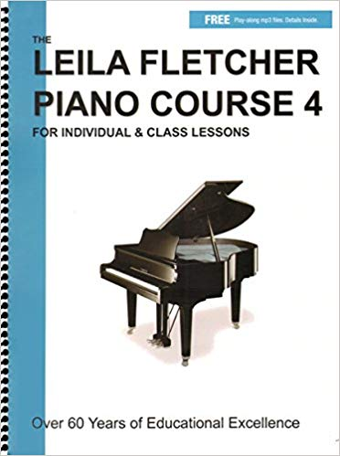 Leila Fletcher Piano Course Book 4 Piano Course