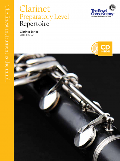 Preparatory Clarinet Repertoire
