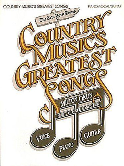 Country Music's Greatest Songs
