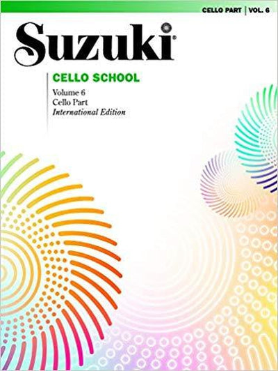 Suzuki Cello school for Cello vol 6/SP