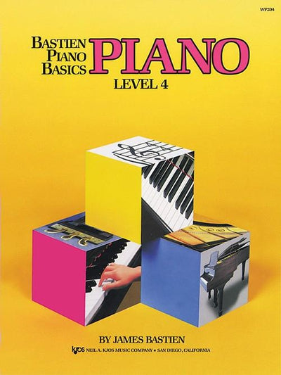 Bastien Piano Basics - Piano Level 4