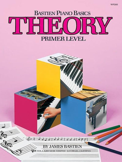 Bastien Piano Basics - Theory Primer Level