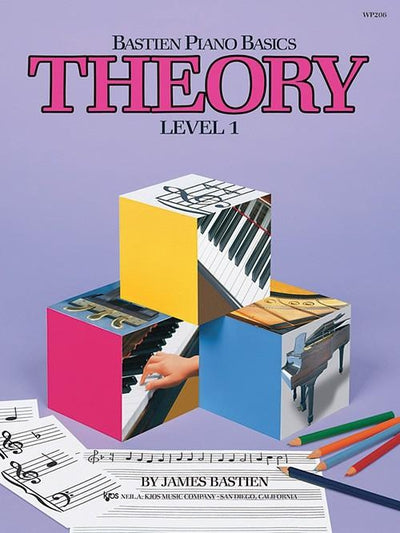 Bastien Piano Basics - Theory Level 1