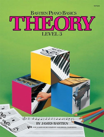 Bastien Piano Basics - Theory Level 3