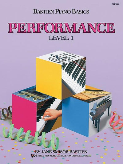 Bastien Piano Basics - Performance Level 1
