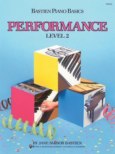 Bastien Piano Basics - Performance Level 2