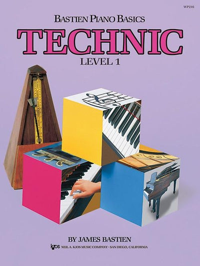 Bastien Piano Basics - Technic Level 1