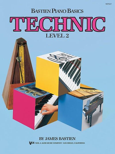 Bastien Piano Basics - Technic Level 2