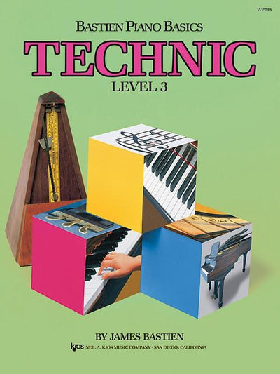 Bastien Piano Basics - Technic Level 3