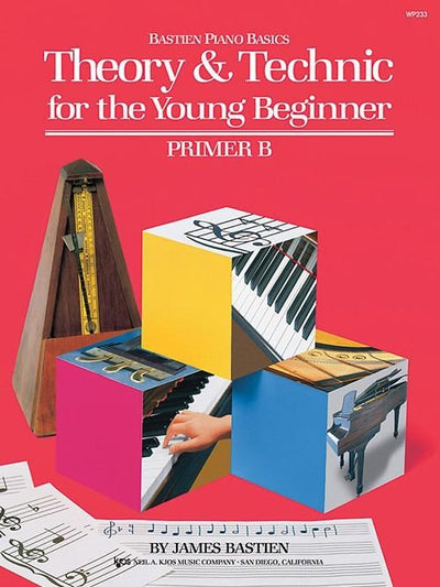 Bastien Piano Basics - Theory & Technic for the Young Beginner Primer B