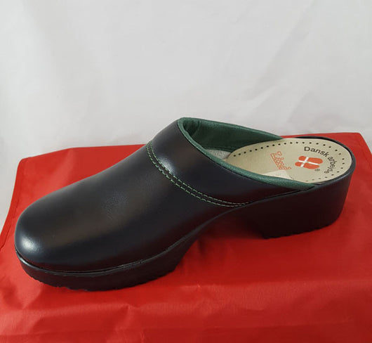 Lind Greenline Danish Clogs Open Back