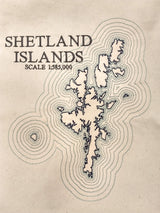 Embroidered Shetland Islands Cushion Cover