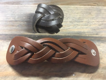 Double Plaited Leather Scout Woggle