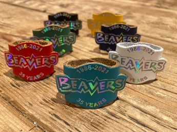 Leather 3D Beaver Scout Woggle | Limited Edition Beaver Scout 35 Years Woggle UK | £2.50 FREE UK P&P