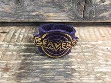The WoggleMakers Scout Woggle Beaver Scout Leather Woggle - Fun Beaver Scout Woggle with gold print - £2.50 FREE P&P