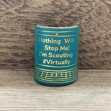 The WoggleMakers Scout Woggle Turquoise 'Scouting From My Screen' - Limited Edition 2020 Leather Scout Woggle.