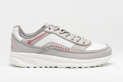 WAVERUNNER Trainer - White/Cool Grey/Red