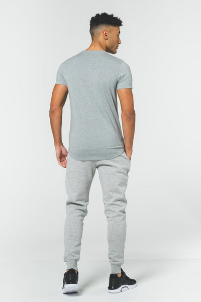 CORE CLUB Tee & Jogger Set - Grey / Grey