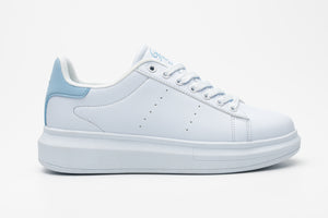 ROYALE JNR Trainer White/Baby Blue