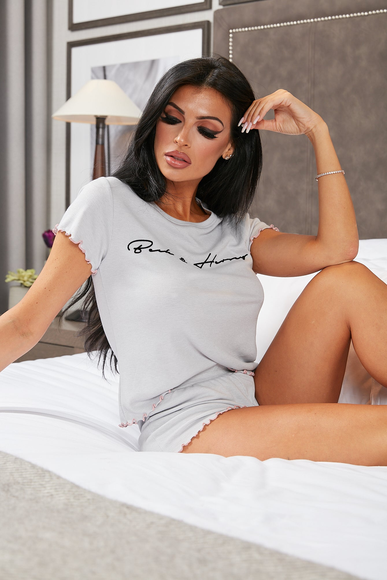OLIVIA Tee & Short Loungewear Set