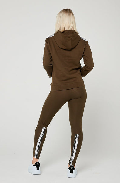AVA Tape Leggings - Khaki