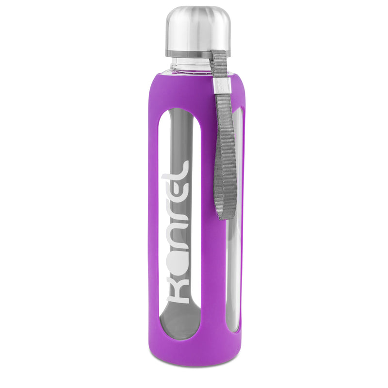 Kanrel (Purple) Silicone Sleeve Replacement for 32oz Bottle