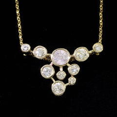 diamond-cluster-yellow-gold-necklace