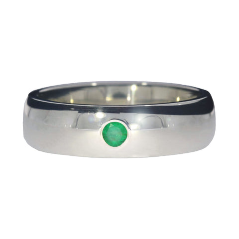 silver-emerald-ring