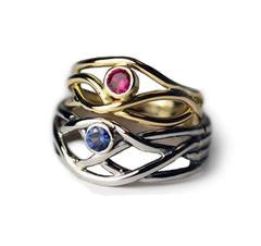 gemstone-wedding-bands