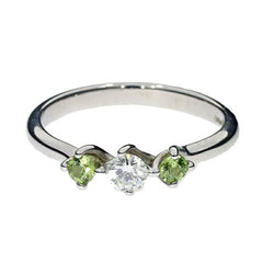 peridot-diamond-engagement-ring